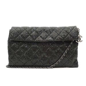 Chanel Metallic Shimmer Quilted Chain Bag